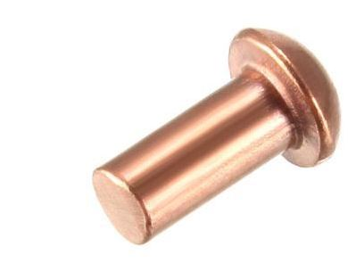 3//16 X 1-1//2 CSUNK Head Copper Rivets; 100 PCS Box